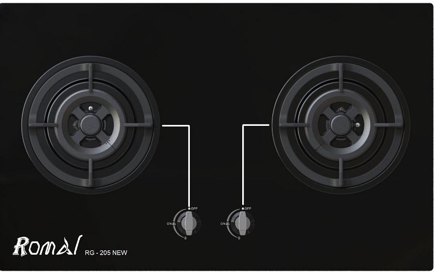 Bếp gas âm Romal RG-205